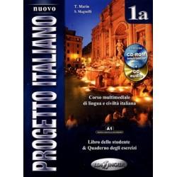 Nuovo Progetto italiano 1a (Libro dello studente e Quaderno degli esercizi) + DVD Video + CD audio