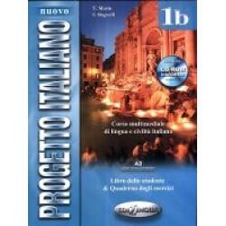 Nuovo Progetto italiano 1b (Libro dello studente e Quaderno degli esercizi) + DVD Video + CD Audio