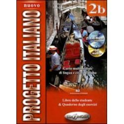 Nuovo Progetto italiano 2b (Libro dello studente & Quaderno degli esercizi) + DVD + CD audio