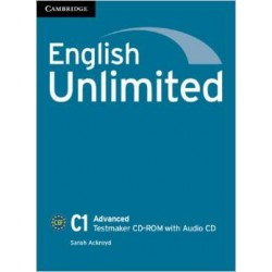 English Unlimited Advanced Testmaker CD-ROM and Audio CD