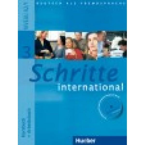 Schritte International 3 - KB + AB (mit CD)