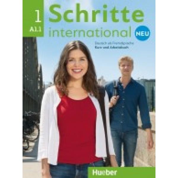 Schritte International neu 1 - Kursbuch und Arbeitsbuch