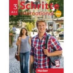 Schritte International neu 3 - Kursbuch und Arbeitsbuch