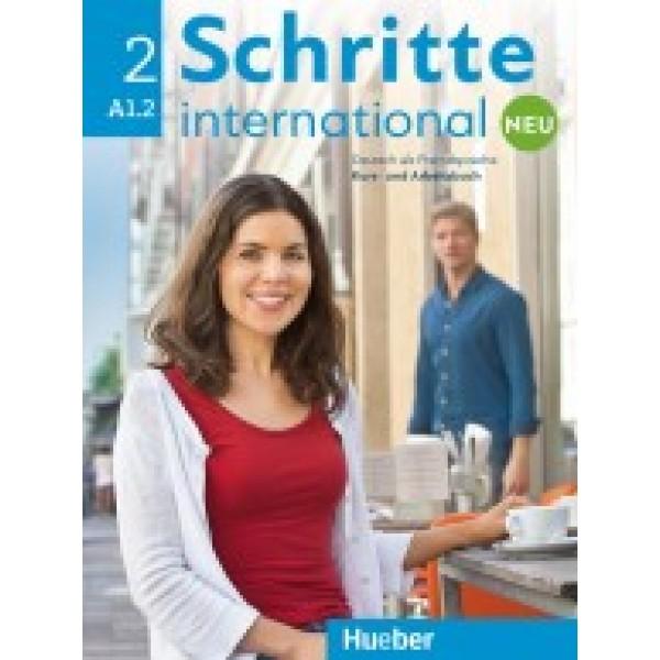 Schritte International neu 2 - Kursbuch und Arbeitsbuch