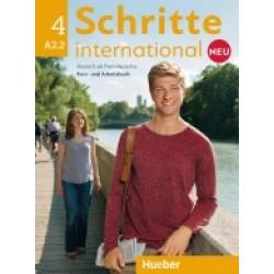 Schritte International neu 4 - Kursbuch und Arbeitsbuch