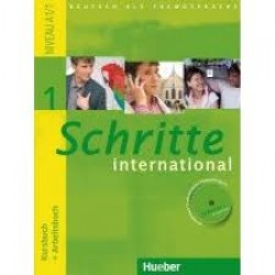 Schritte International 1 - KB + AB (mit CD)