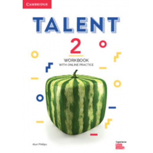 Talent Level 2 Workbook with Online Practice