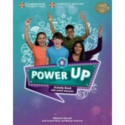 Power Up Level 6 Activity Book with Online Resources and Home Booklet