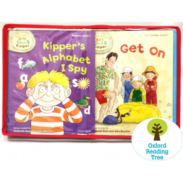 Oxford Reading Tree - Read with Biff, Chip and Kipper Collection: Levels 1-3