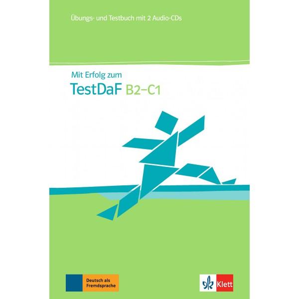 Mit Erfolg zu Test DaF Ubungs- und Testbuch + 2 Audio-CDs