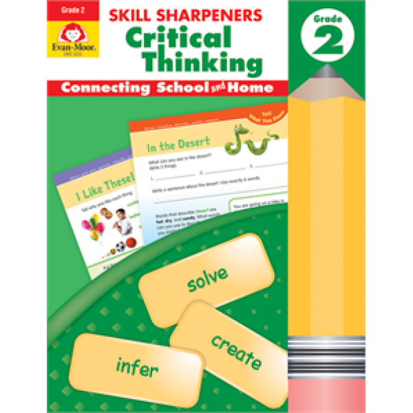 Skill Sharpeners Critical Thinking, Grade 2