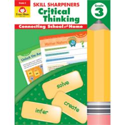 Skill Sharpeners Critical Thinking, Grade 3