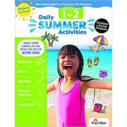 Daily Summer Activities, Between 1st Grade and 2nd Grade Activity Book