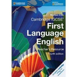 Cambridge IGCSE First Language English Teachers Resource