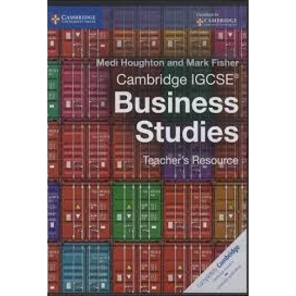 Cambridge IGCSE Business Studies Teachers Resource CD-ROM
