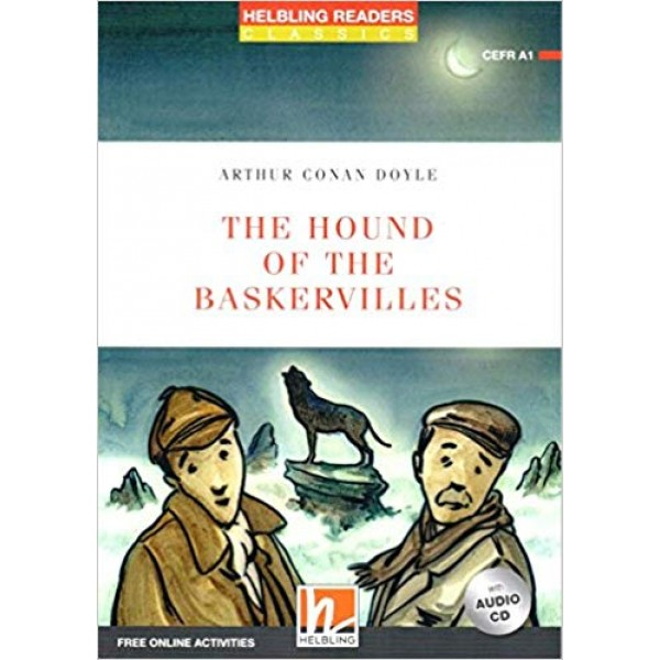 The Hound of the Baskervilles Book with Audio CD and Online Access Code