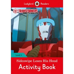 Transformers: Sideswipe Loses His Head Activity Book