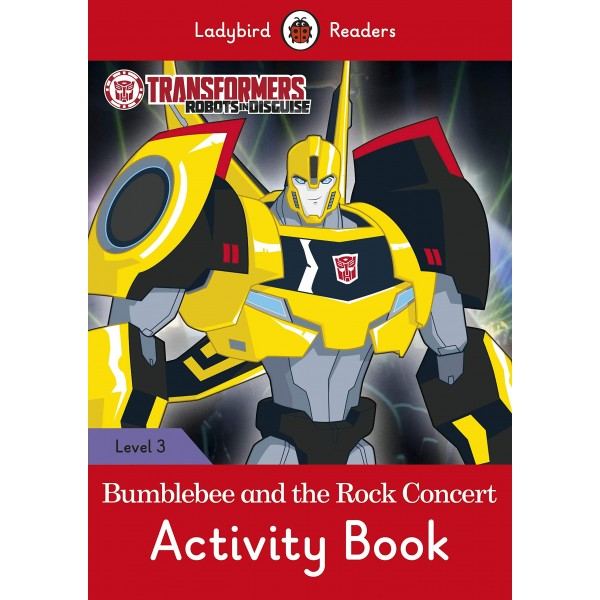 Transformers: Bumblebee and the Rock Concert Activity Book